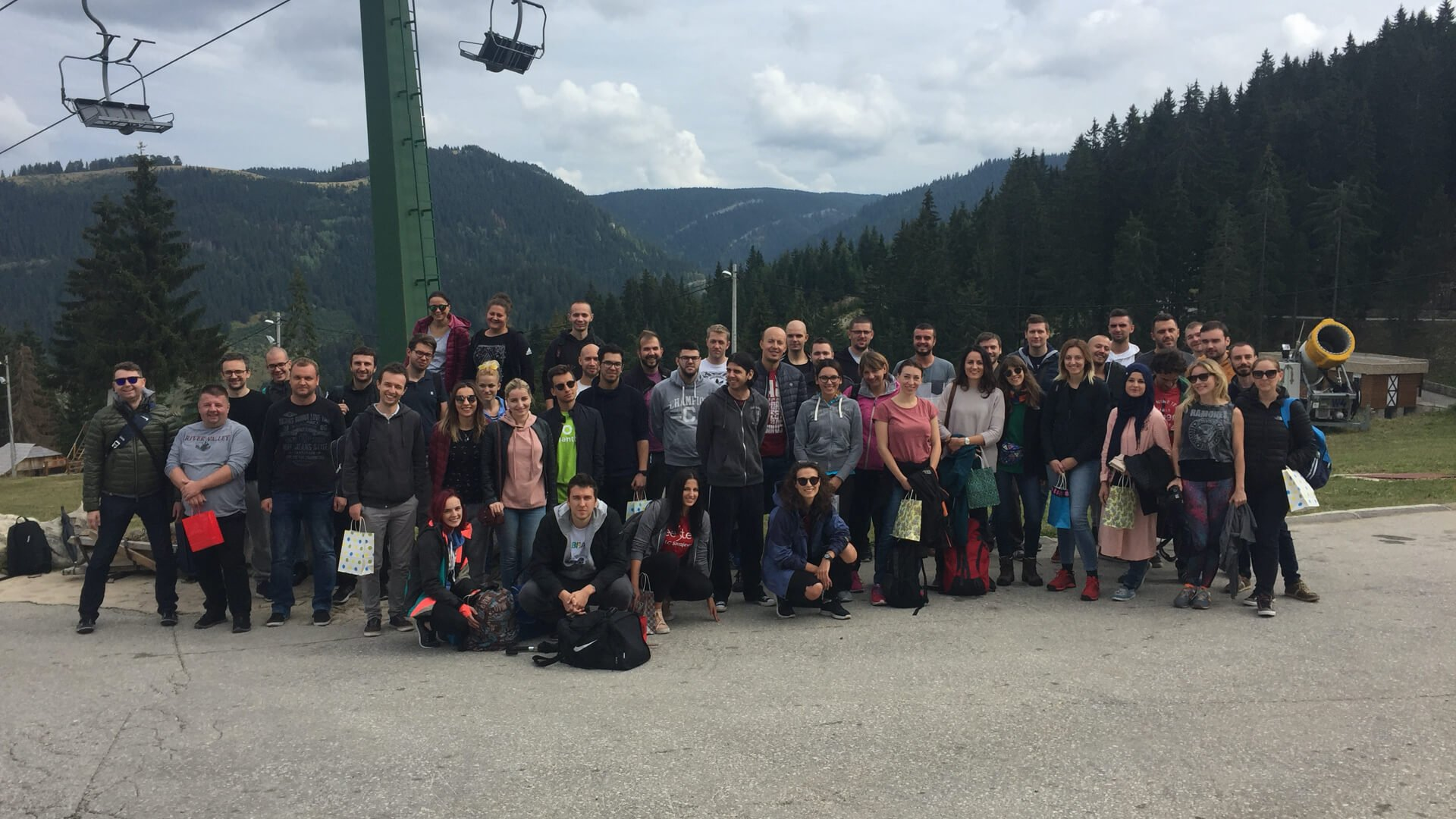 Conquering ourselves on the mountain: ABH team building
