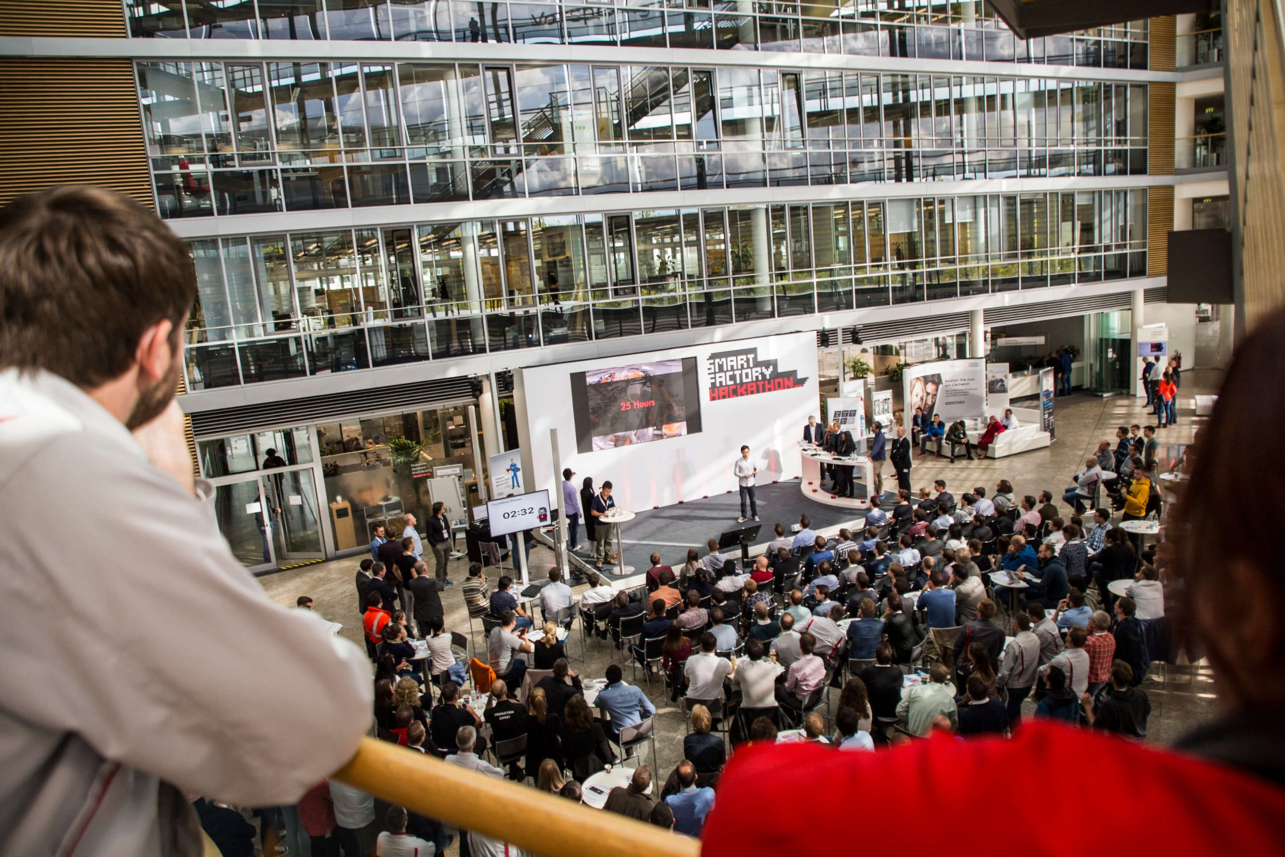 Audi Smart Factory Hackathon – Brown bag edition!